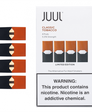 Buy JUUL PODS Classic Tobacco (PACK OF 4) E Cigarette Coil Head