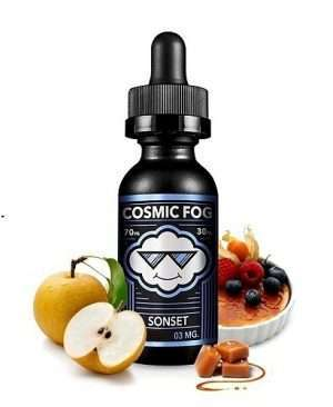 E Juice Sonset Pear, Creme Brulee & Rich Caramel Online in India